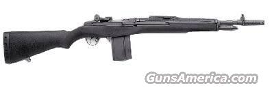 Springfield M1A Scout Squad Rifle Black Synthetic Stock  Guns > Rifles > Springfield Armory Rifles > M1A/M14