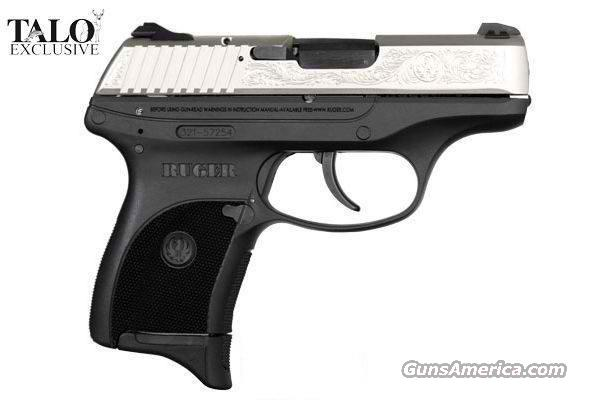 "Ruger LC9 9MM 3.12"" Silver Talo Ed Engraved 3208   Guns > Pistols > Ruger Semi-Auto Pistols > LC9"