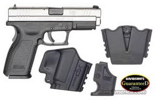 "SPRINGFIELD ARMORY XD 45AP PST 4""BLACK/SS 10RD FIXED SIGHTS  Guns > Pistols > Springfield Armory Pistols > XD (eXtreme Duty)"