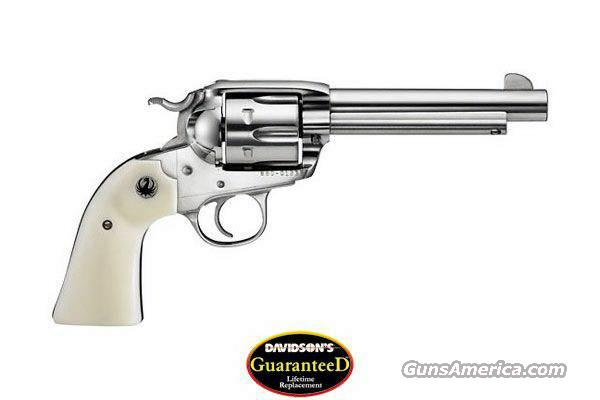 "Ruger Bisley Vaquero 45 LC 5.5"" Stainless Ivory  Guns > Pistols > Ruger Single Action Revolvers > Cowboy Action"