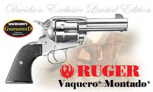 "Ruger Vaquero Montado 45 3.75"" SS Limited Edtion   Guns > Pistols > Ruger Single Action Revolvers > Cowboy Action"