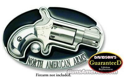 North American Arms Belt Buckle W/Grips Aluminum  Non-Guns > Gun Parts > Grips > Other