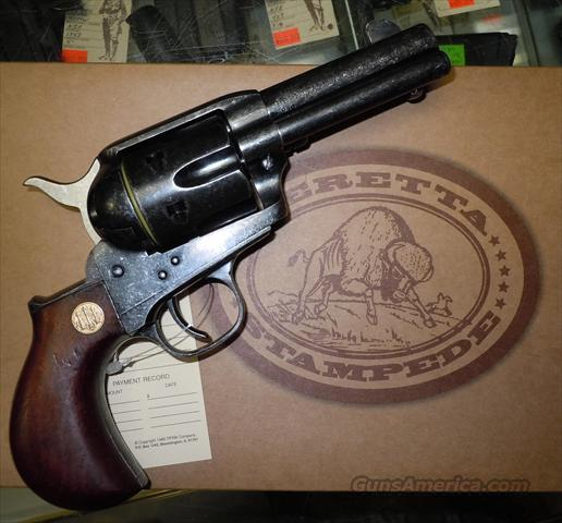 "BERETTA (UBERTI) STAMPEDE MARSHALL ANTIQUED .45 COLT SINGLE ACTION REVOLVER WITH 3-1/2"" BARREL   Guns > Pistols > Beretta Revolvers"