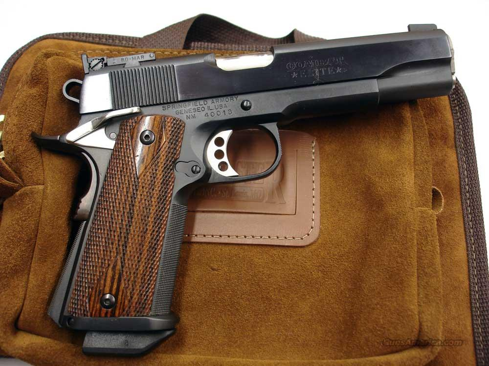 Custom By Ed Brown 5 Quot Blued 45 Acp For Sale