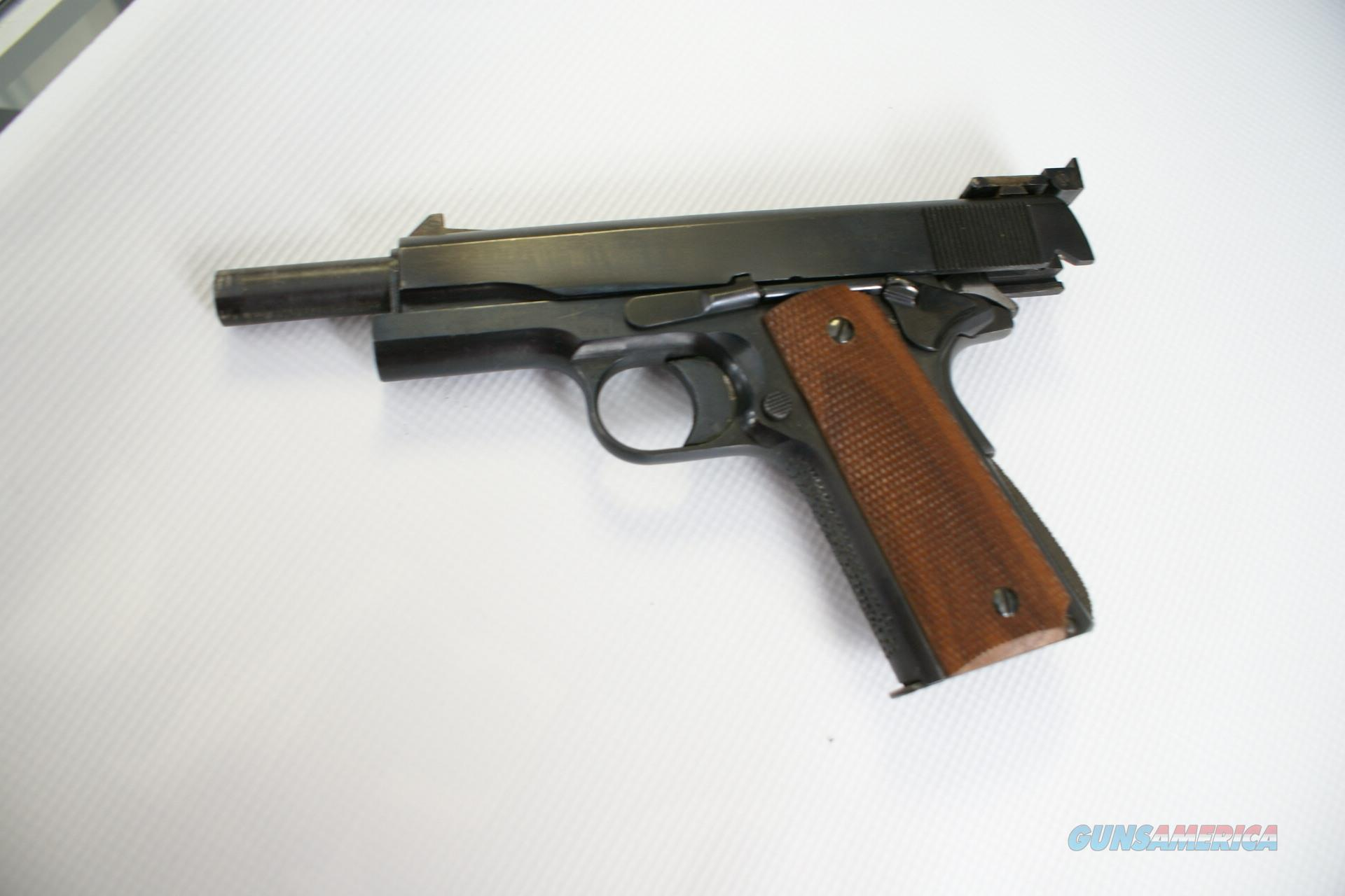 COLT .45 1911 FULL SIZE GOVERNMENT MODEL/MATCH SETUP  Guns > Pistols > Colt Automatic Pistols (1911 & Var)