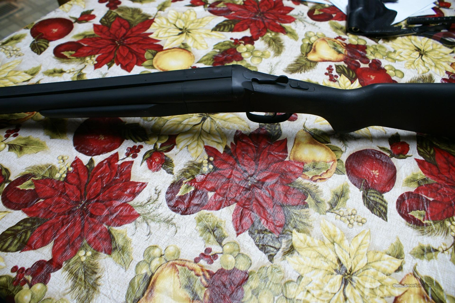 TACTICAL DOUBLE BARREL 12GA. STOGER COACH SHOTGUN  Guns > Shotguns > S Misc Shotguns