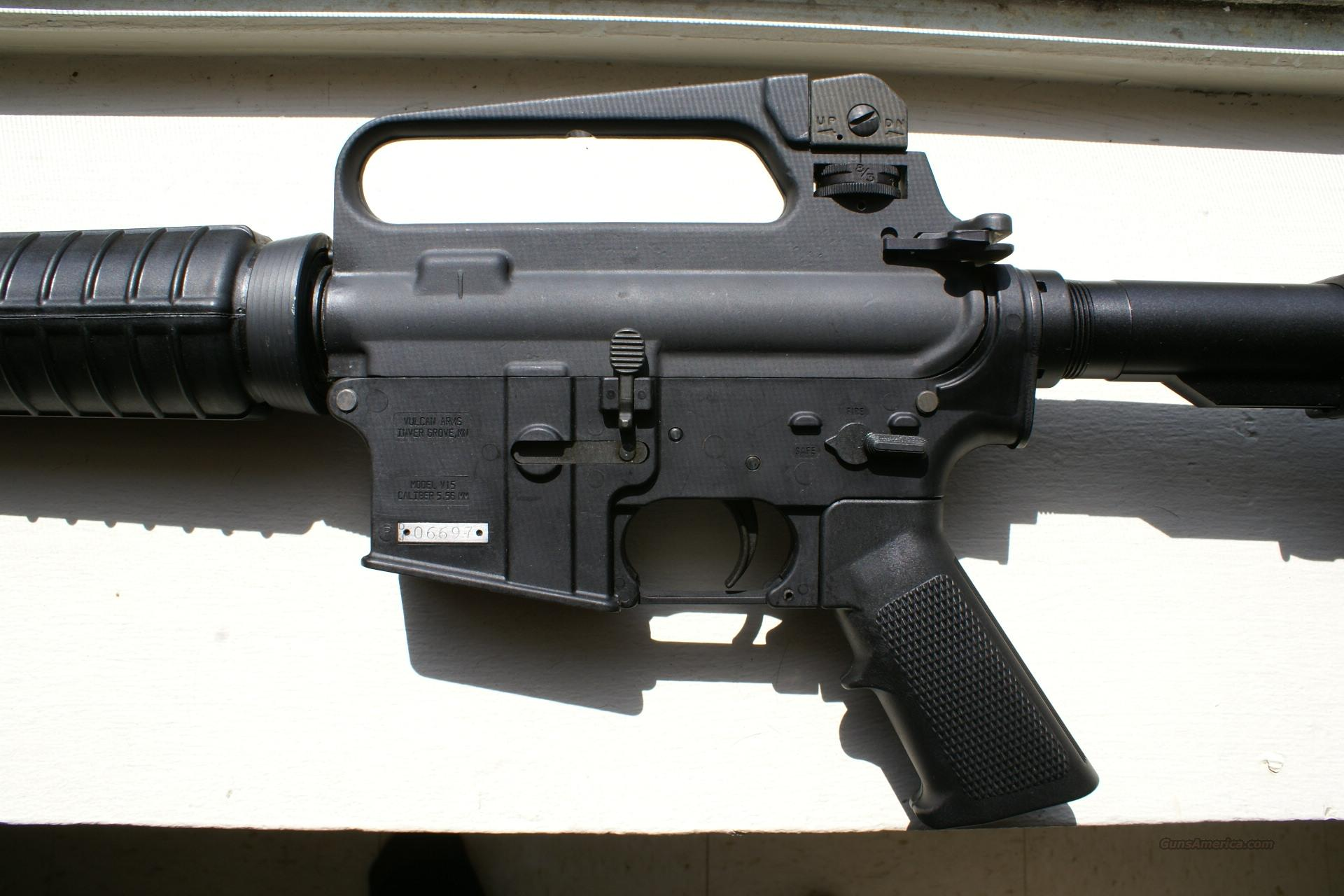 AR-15 COLT UPPER/VULCAN ARMS L/W LOWER  Guns > Rifles > AR-15 Rifles - Small Manufacturers > Complete Rifle
