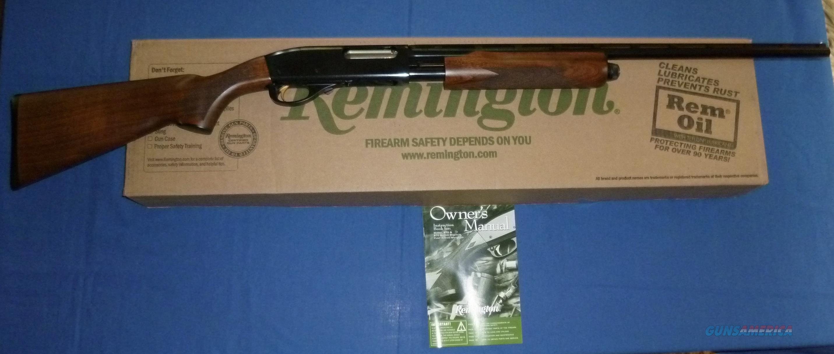 REMINGTON 870 WINGMASTER 28 GAUGE PUMP SHOTGUN  Guns > Shotguns > Remington Shotguns  > Pump > Hunting