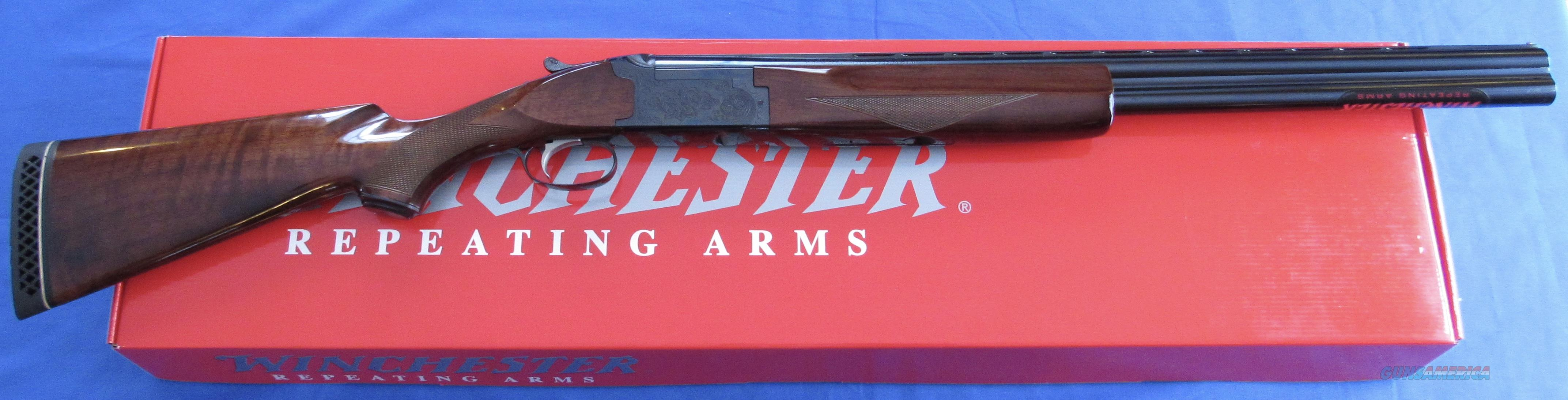 WINCHESTER 101 FIELD 12 GAUGE OVER/UNDER SHOTGUN  Guns > Shotguns > Winchester Shotguns - Modern > O/U > Hunting
