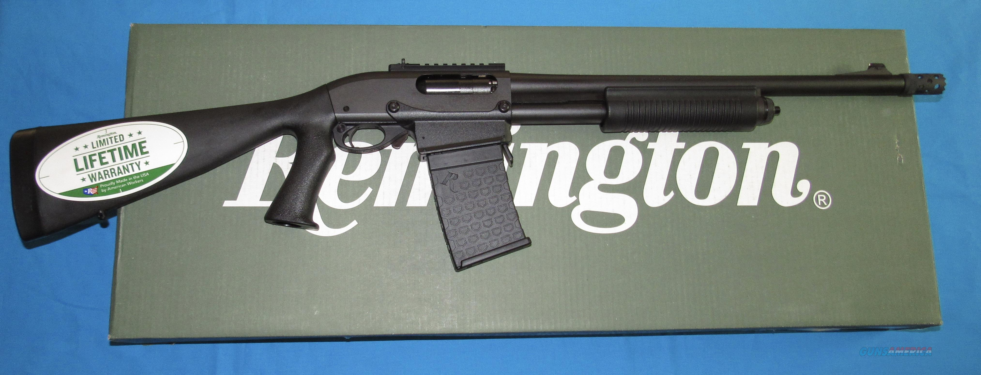 REMINGTON 870 EXPRESS TACTICAL 12 GAUGE PUMP SHOTGUN W/DETACHABLE MAGAZINE  Guns > Shotguns > Remington Shotguns  > Pump > Tactical