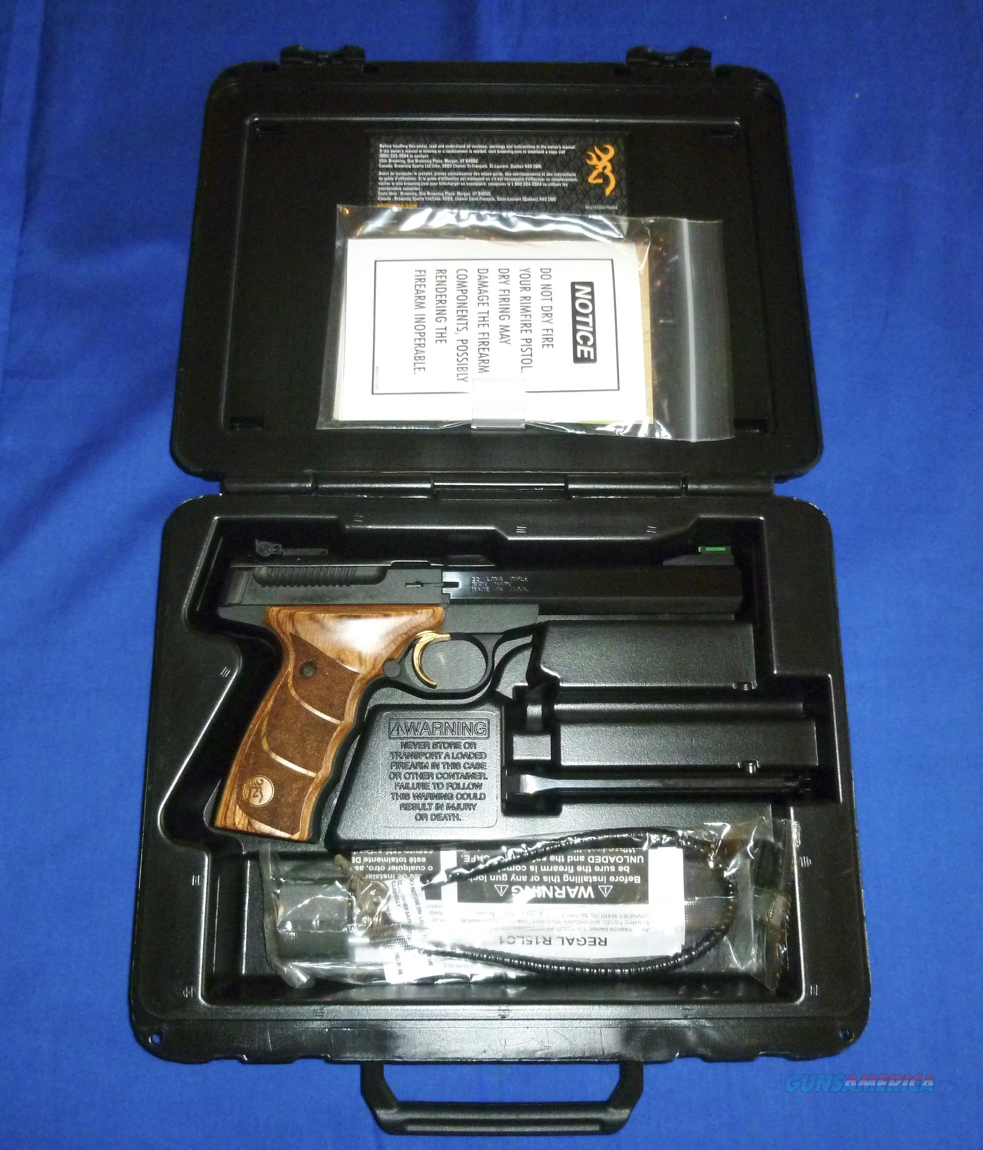 BROWNING BUCK MARK PLUS UDX 22LR PISTOL  Guns > Pistols > Browning Pistols > Buckmark