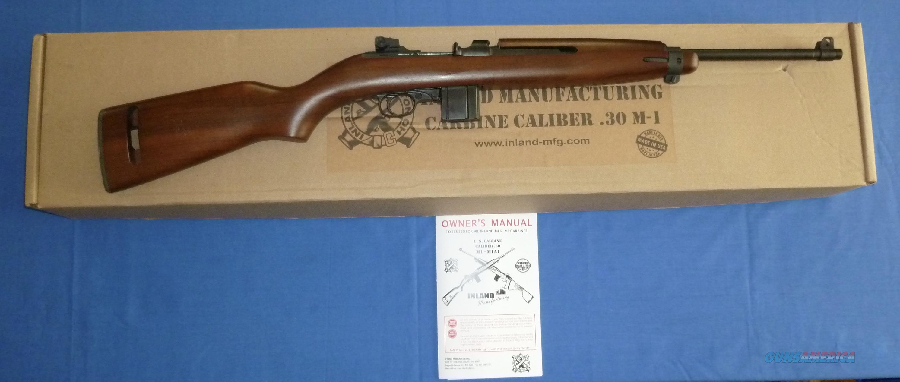 INLAND MFG MODEL 1944 M1 CARBINE, .30 CAR. CALIBER  Guns > Rifles > Military Misc. Rifles US > M1 Carbine