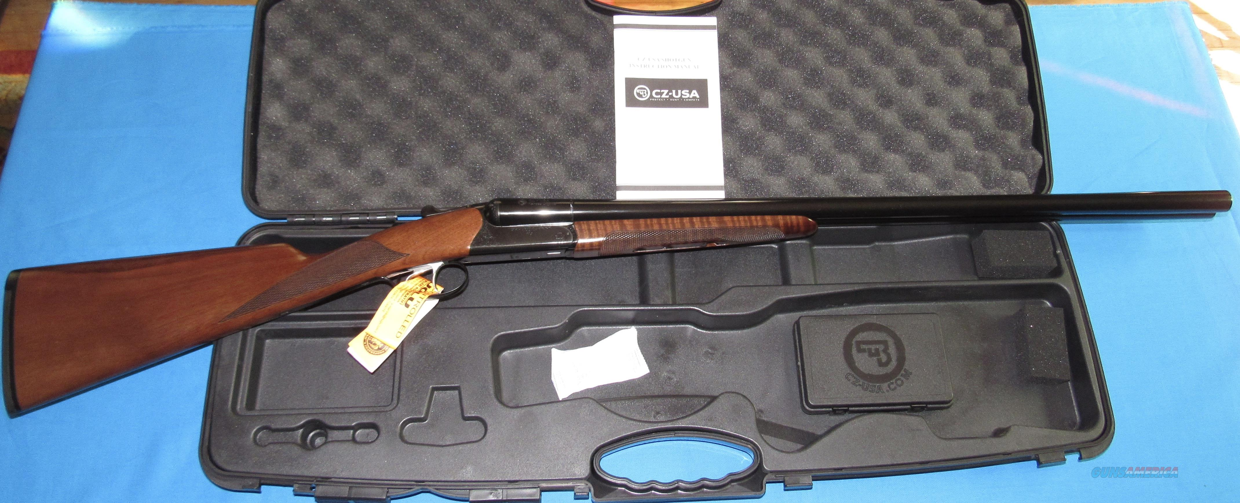 CZ BOBWHITE G2 12 GAUGE DOUBLE BARREL SHOTGUN  Guns > Shotguns > CZ Shotguns