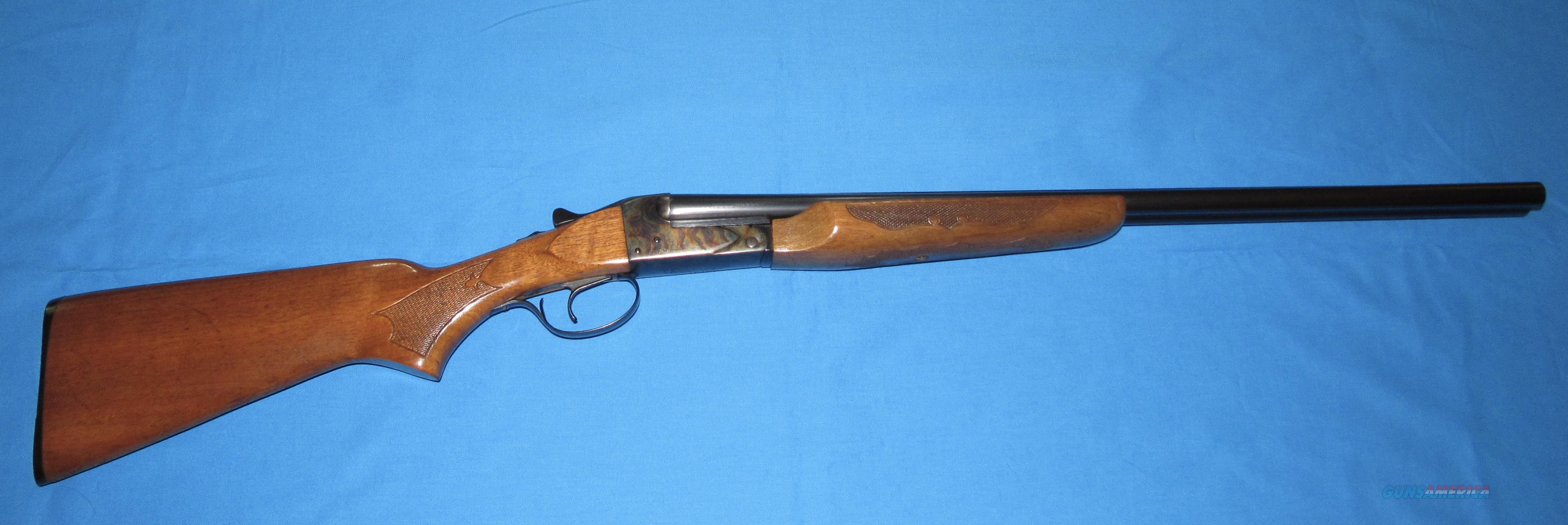 SAVAGE-FOX MODEL B-SE 20 GAUGE DOUBLE BARREL SHOTGUN  Guns > Shotguns > Fox Shotguns