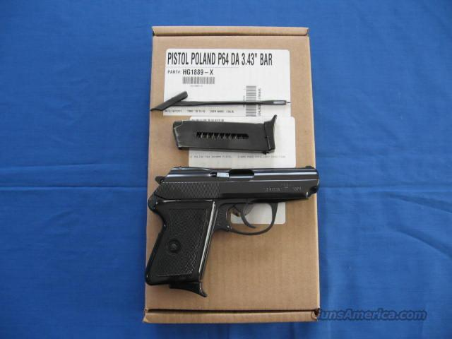 Century Arms Polish P64 9mm Makarov Pistol  Guns > Pistols > Century International Arms - Pistols > Pistols