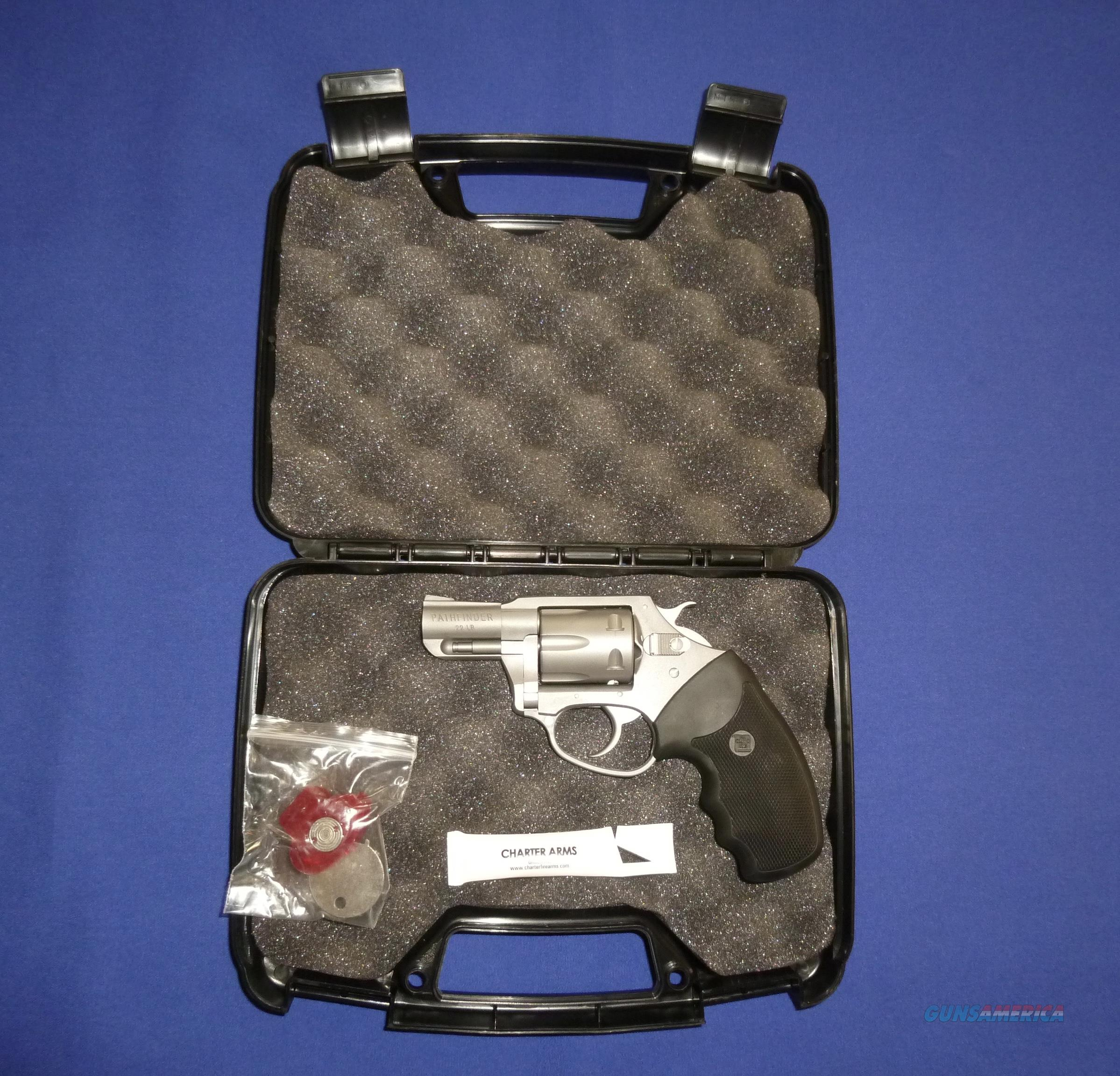 Charter Arms Pathfinder 22LR Snubbie Revolver NEW!  Guns > Pistols > Charter Arms Revolvers
