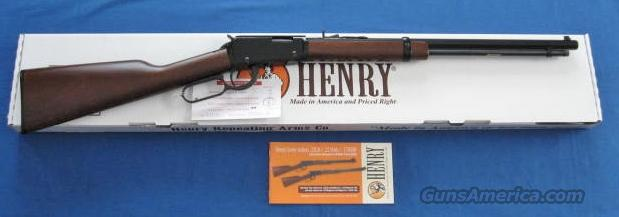 Henry Frontier Octagon 22 Caliber Lever Action Rifle  Guns > Rifles > Henry Rifle Company
