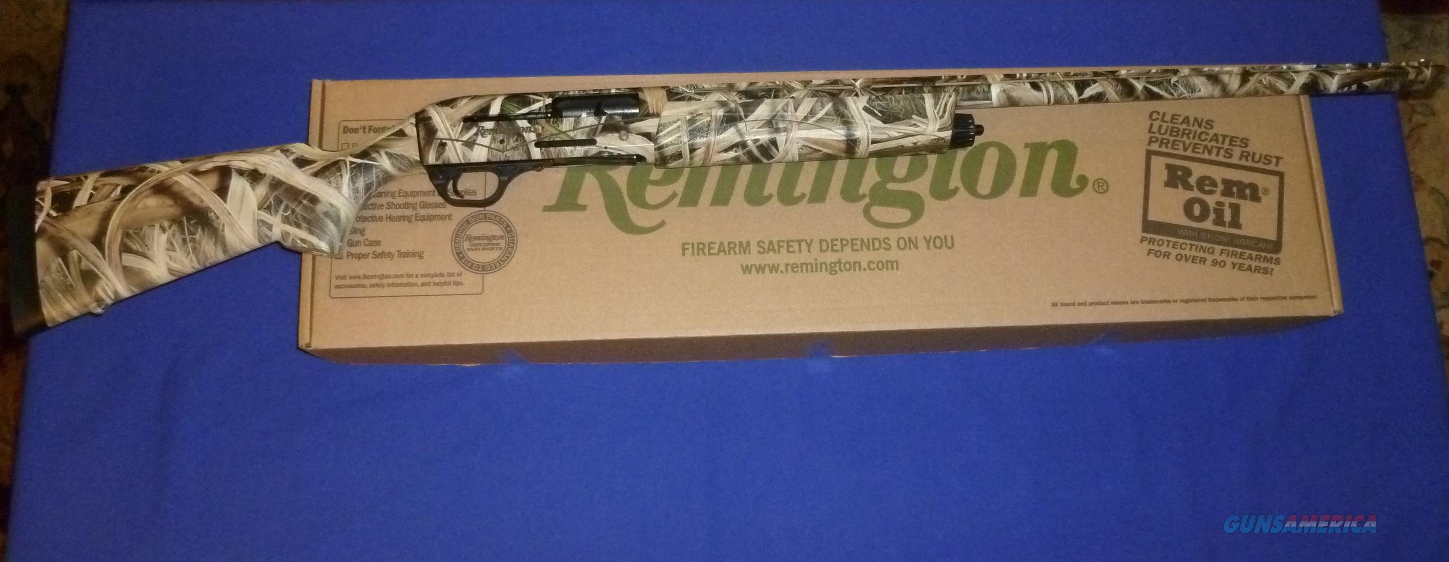 CLEARANCE PRICED!  REMINGTON V3 FIELD SPORT MOSSY OAK BLADES CAMO 12 GAUGE SEMI-AUTO SHOTGUN  Guns > Shotguns > Remington Shotguns  > Autoloaders > Hunting