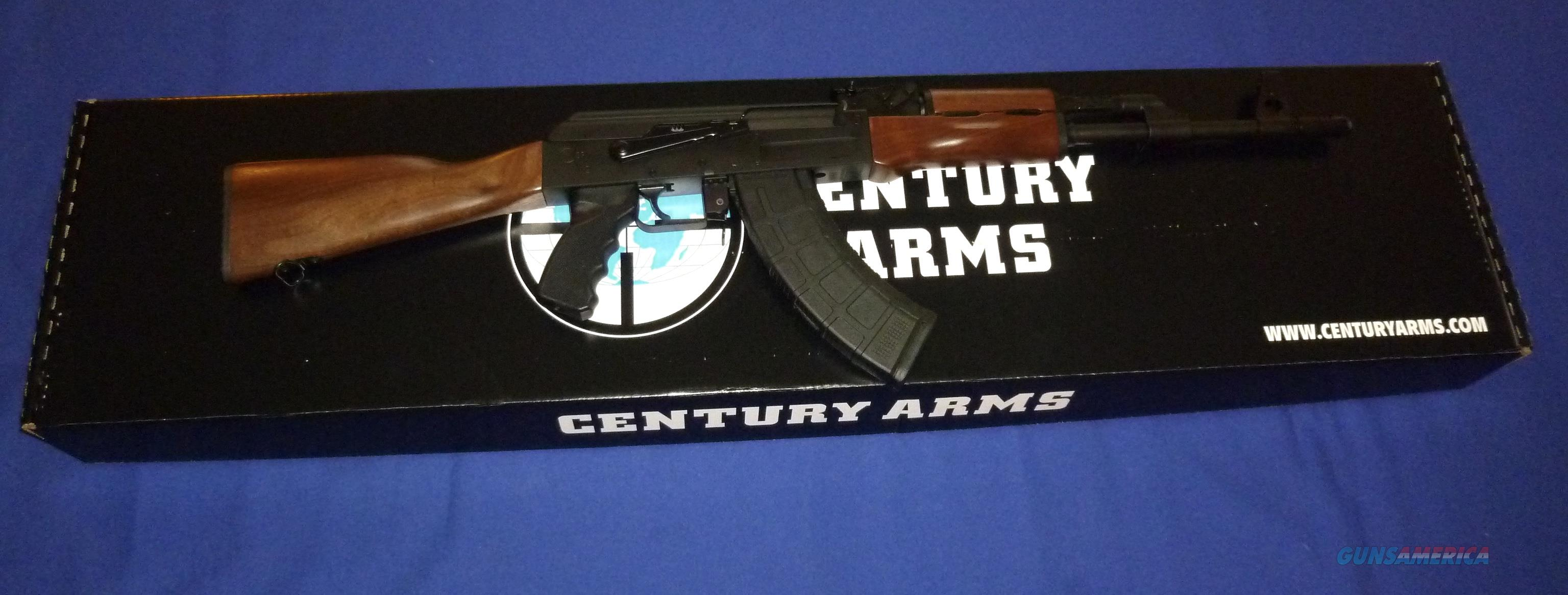 CENTURY ARMS C39V2 7.62x39 AK-47 RIFLE W/MILLED RECEIVER AND WALNUT STOCK NEW  Guns > Rifles > Century International Arms - Rifles > Rifles