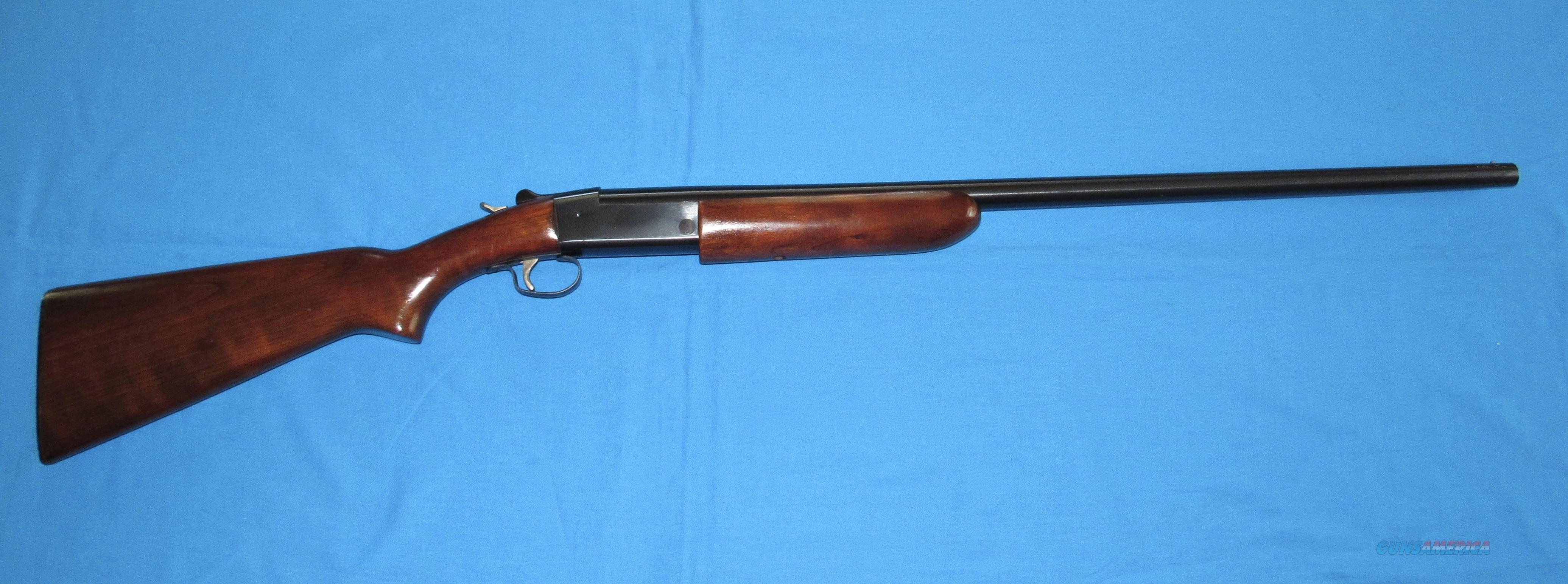 WINCHESTER MODEL 37 16 GAUGE SINGLE SHOT SHOTGUN  Guns > Shotguns > Winchester Shotguns - Modern > Bolt/Single Shot