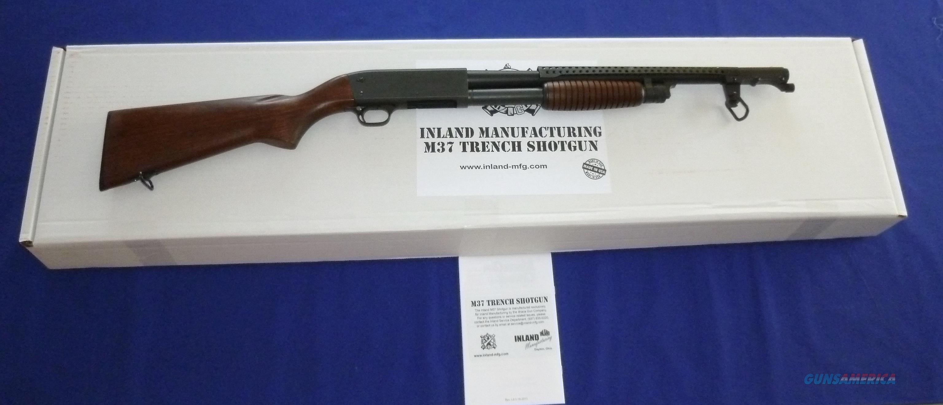 INLAND MFG. (ITHACA) MODEL 37 12 GAUGE COMBAT TRENCH GUN  Guns > Shotguns > Military Misc. Shotguns US