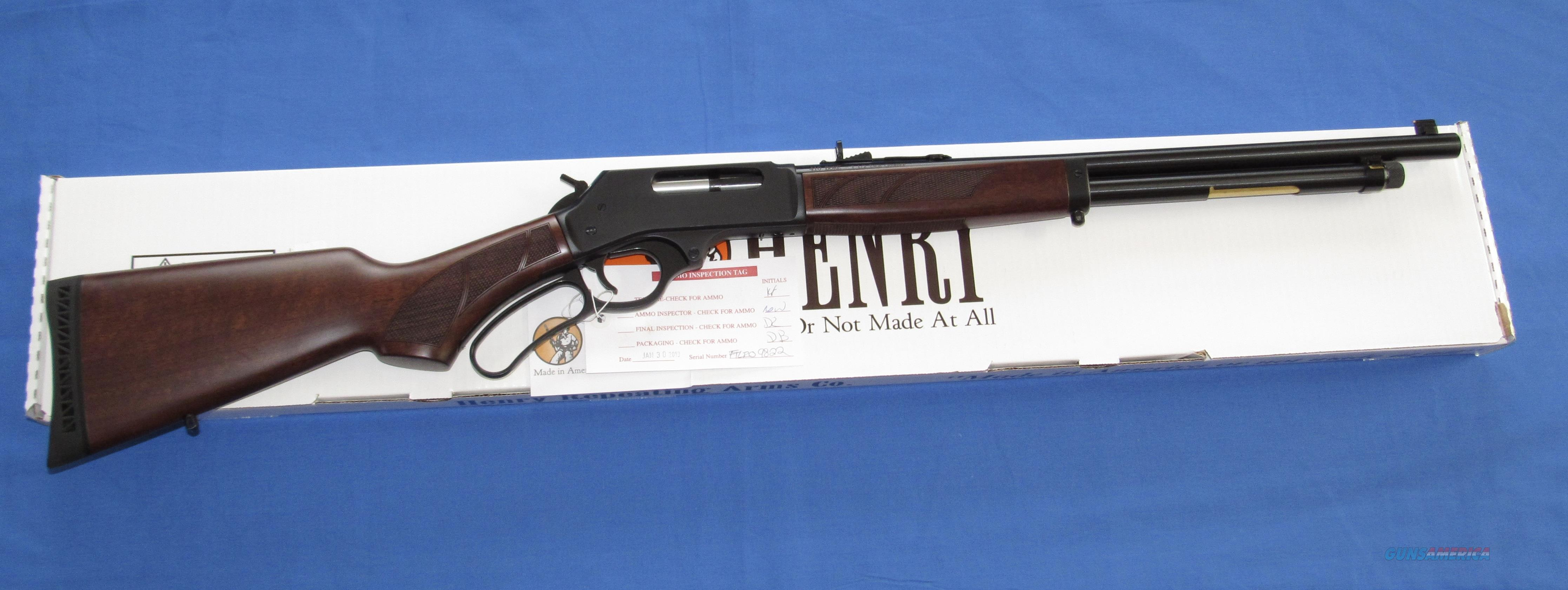 HENRY 410 GAUGE LEVER ACTION SHOTGUN  Guns > Shotguns > Henry Shotguns