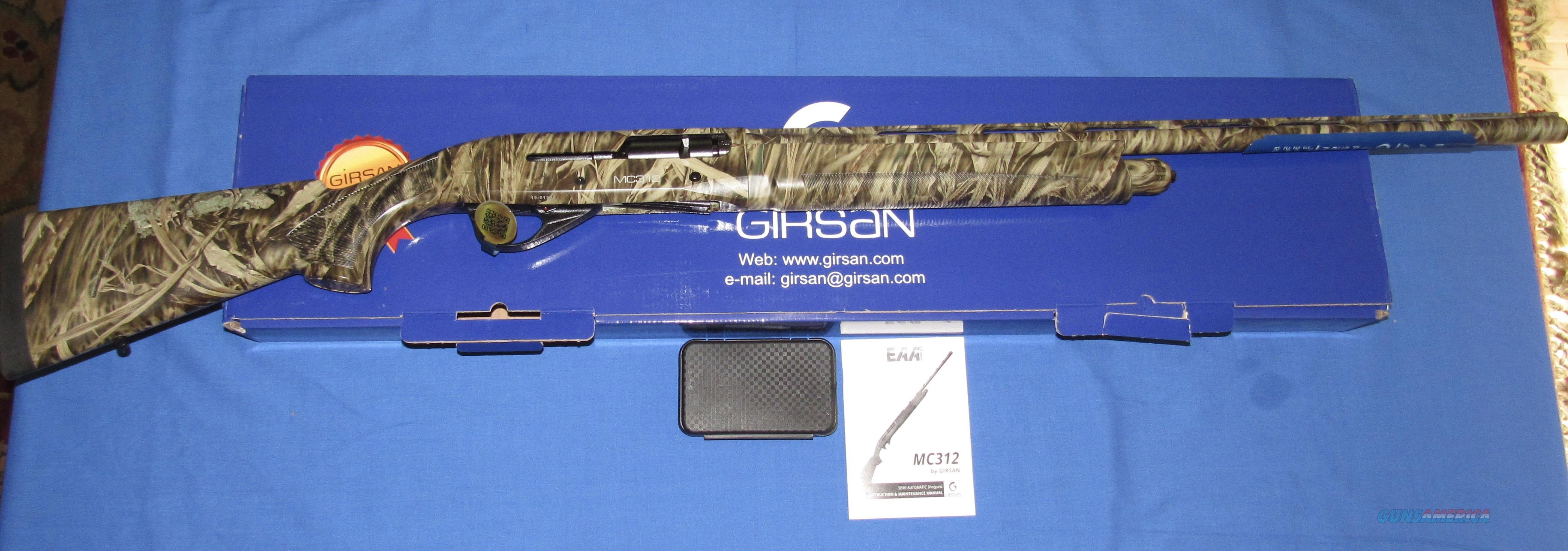 "GIRSAN MC312 INERTIA 12 GAUGE 3.5"" CAMO SEMI-AUTO SHOTGUN FREE SHIPPING!  Guns > Shotguns > EAA Shotguns"