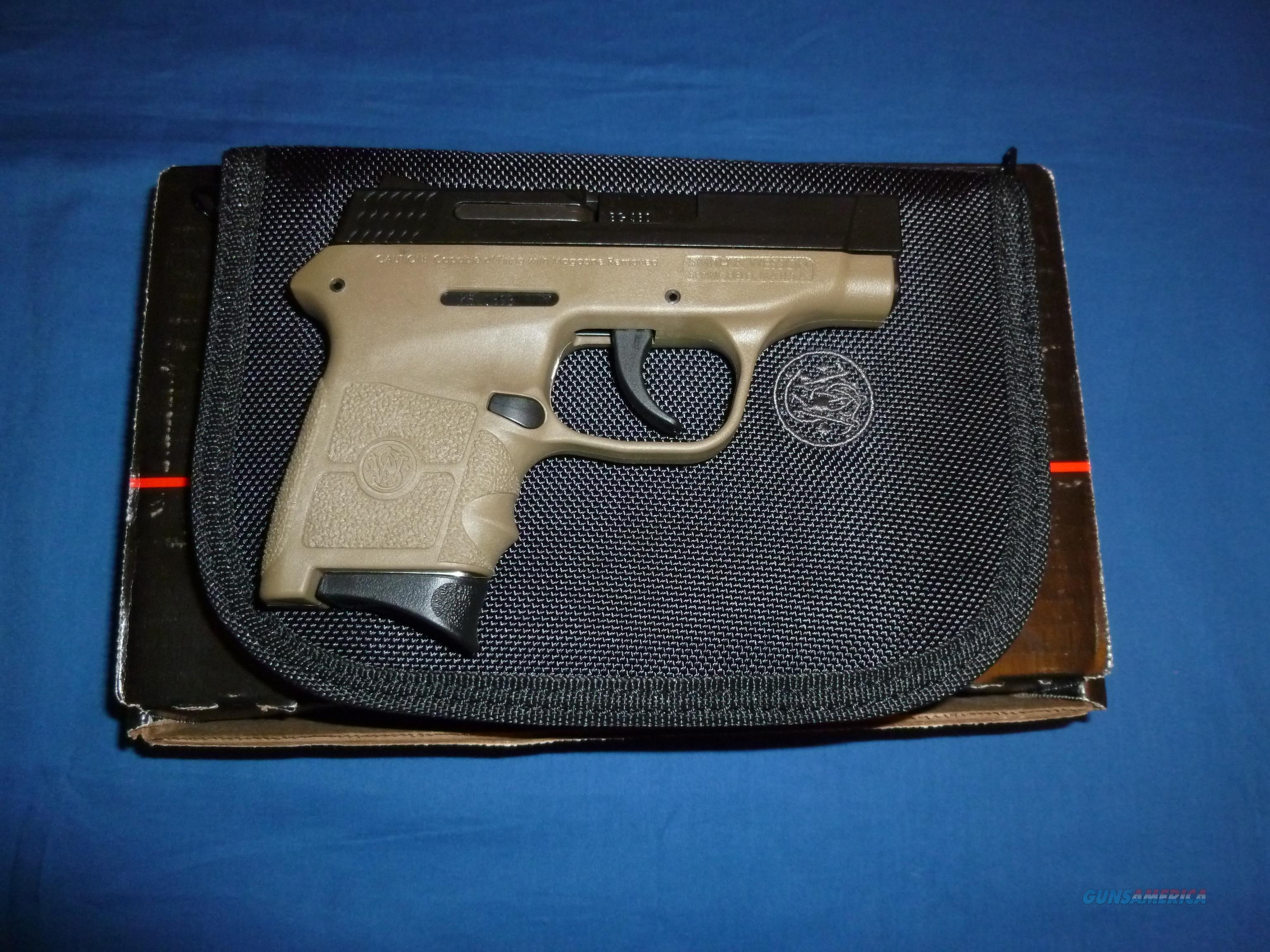 SALE PRICED!  SMITH & WESSON M&P BODYGUARD 380ACP MICRO-COMPACT PISTOL FLAT DARK EARTH  Guns > Pistols > Smith & Wesson Pistols - Autos > Polymer Frame