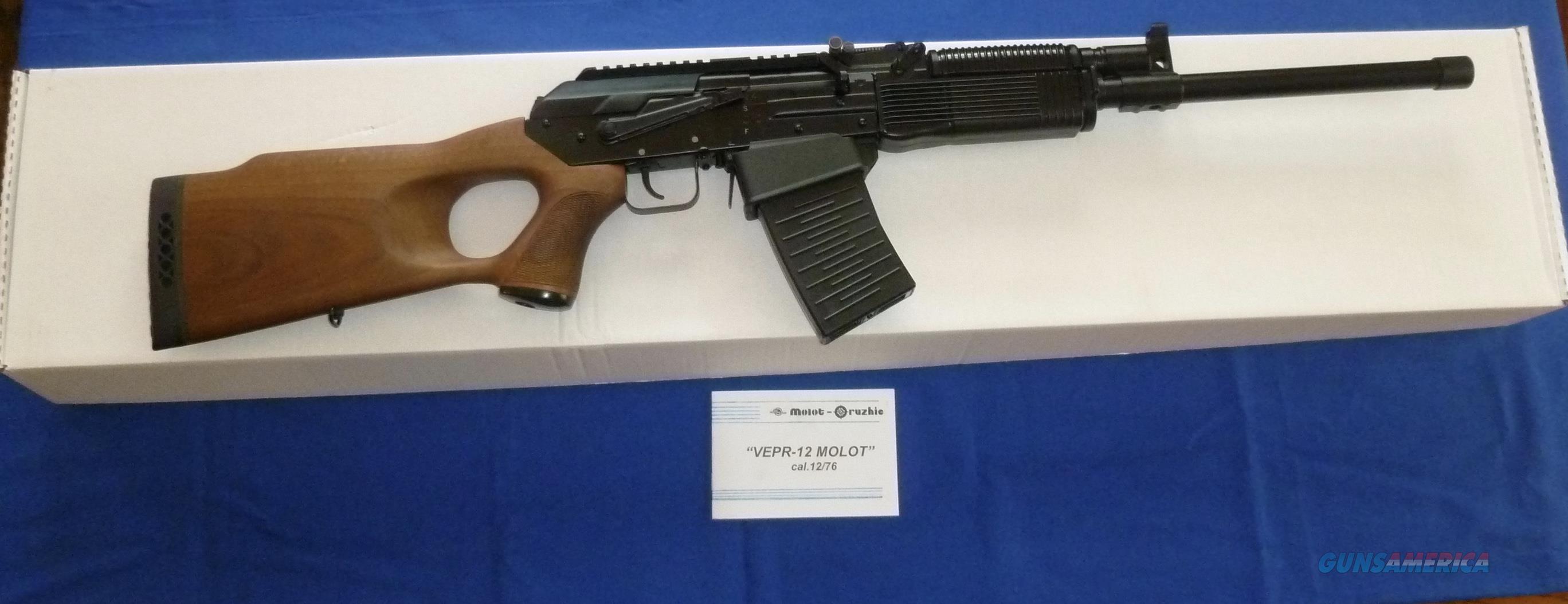 MOLOT VEPR-12 12 GAUGE SEMI-AUTO SHOTGUN  Guns > Shotguns > Saiga Shotguns > Shotguns