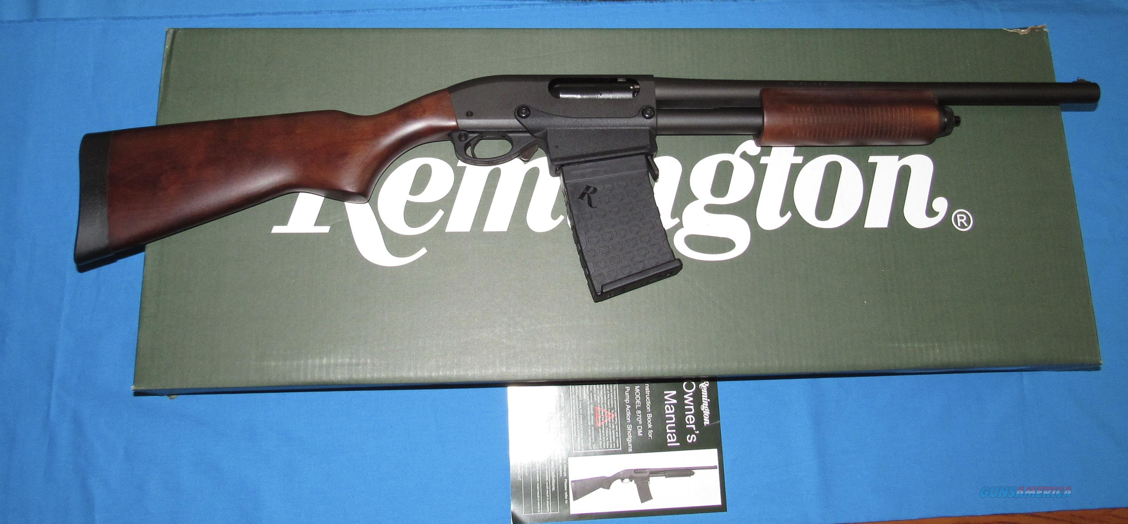 REMINGTON 870 EXPRESS TACTICAL HARDWOOD 12 GA PUMP SHOTGUN W/D. MAG.  Guns > Shotguns > Remington Shotguns  > Pump > Tactical