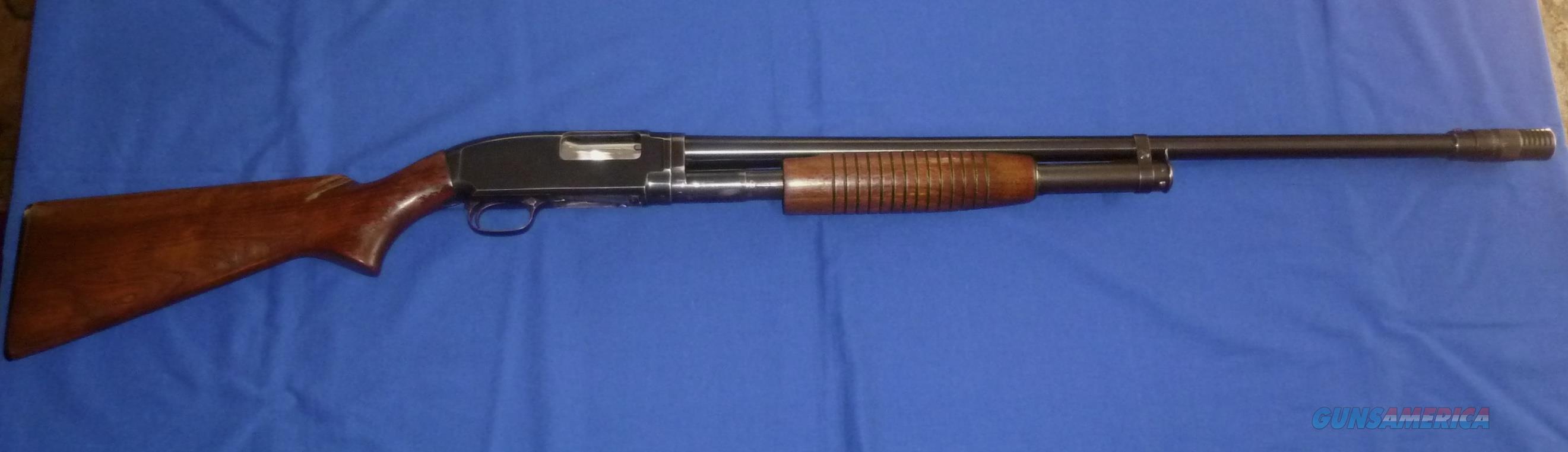 WINCHESTER MODEL 12 12 GAUGE PUMP SHOTGUN W/POLYCHOKE  Guns > Shotguns > Winchester Shotguns - Modern > Pump Action > Hunting