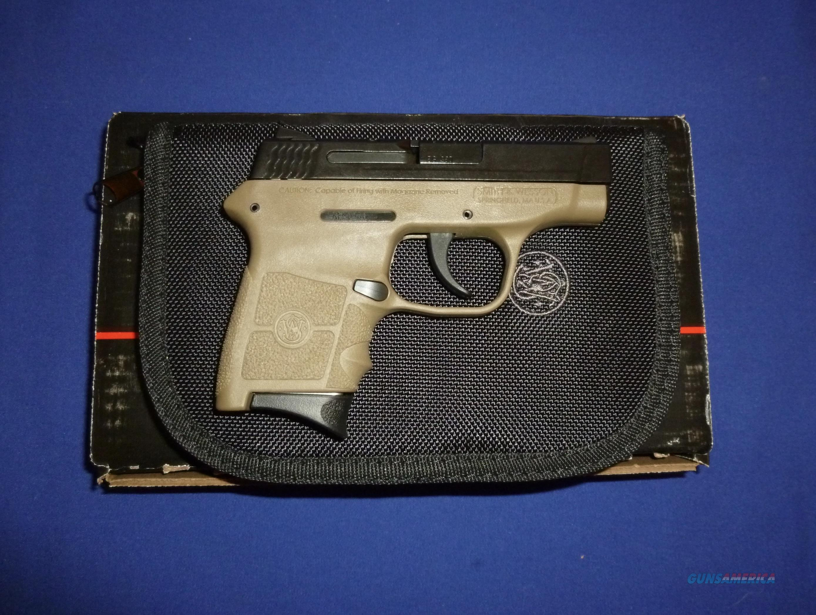 SMITH & WESSON M&P BODYGUARD 380ACP MICRO-COMPACT PISTOL W/FDE FRAME   Guns > Pistols > Smith & Wesson Pistols - Autos > Polymer Frame