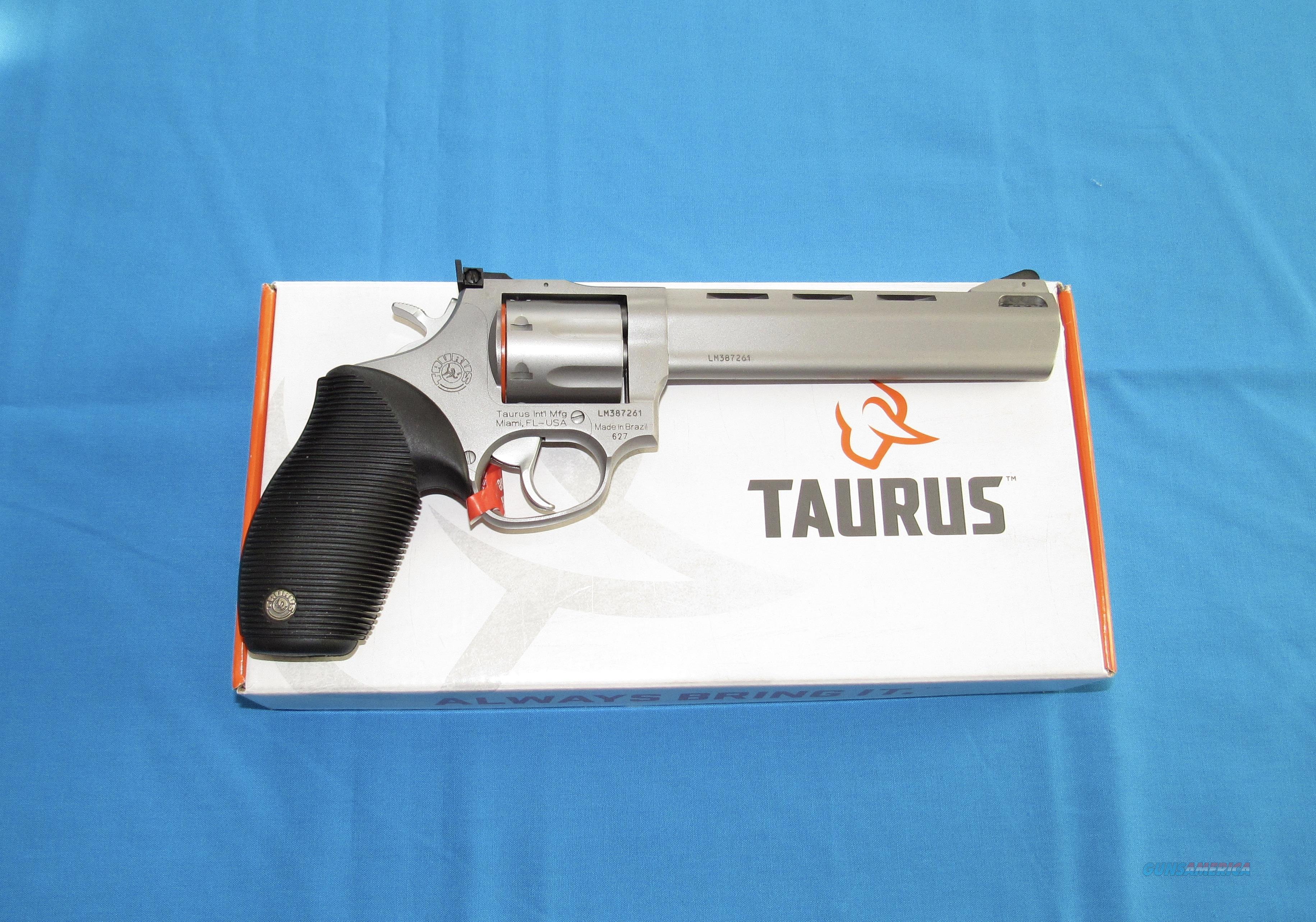 TAURUS 627 TRACKER STAINLESS STEEL 357 MAGNUM REVOLVER  Guns > Pistols > Taurus Pistols > Revolvers