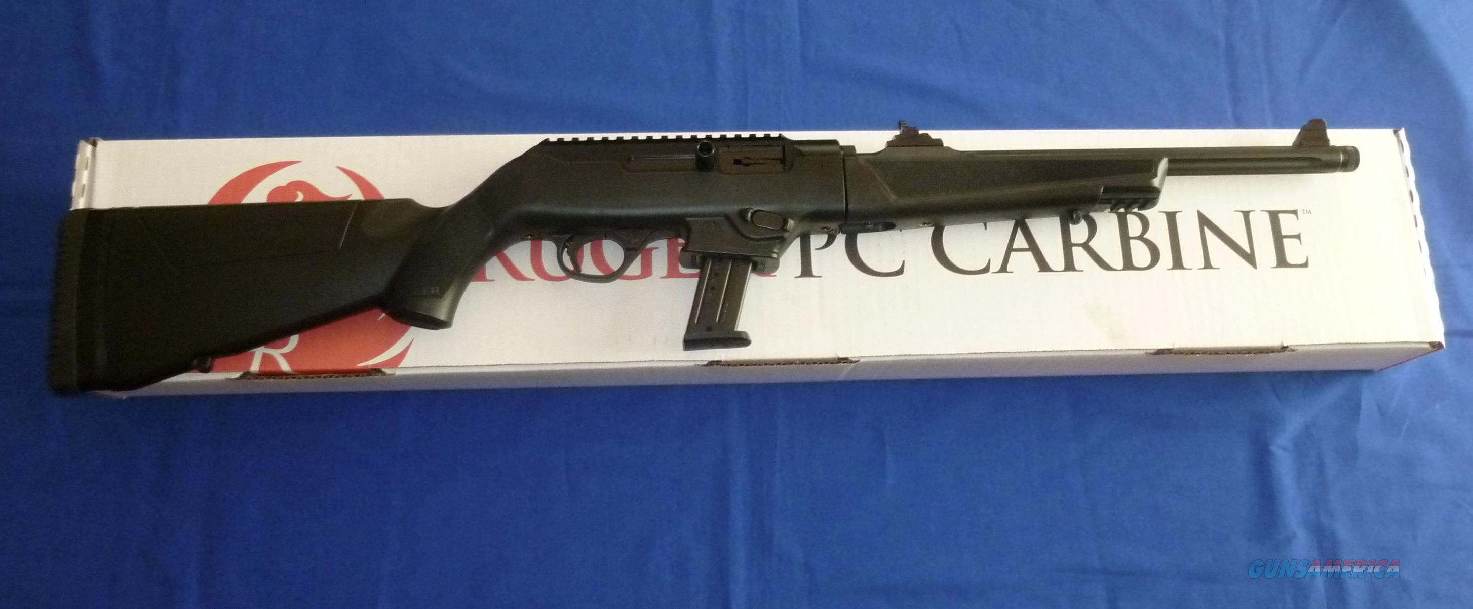 RUGER PC CARBINE 9MM SEMI-AUTO RIFLE 17 ROUND  Guns > Rifles > Ruger Rifles > M44/Carbine
