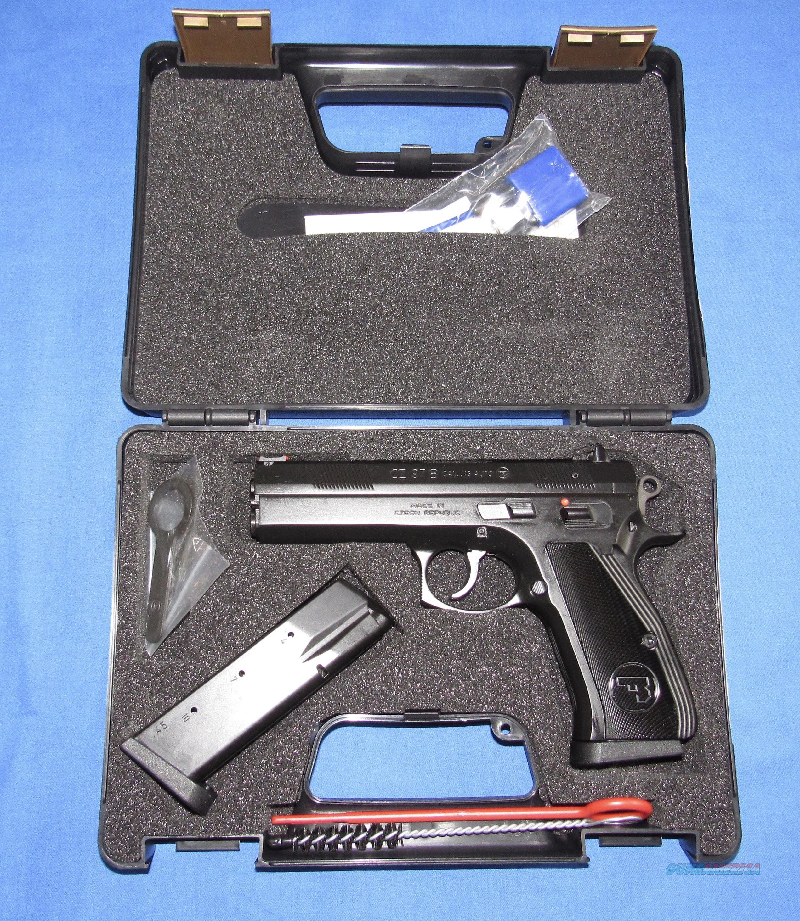 CZ 97 B 45 ACP SEMI-AUTO PISTOL  Guns > Pistols > CZ Pistols