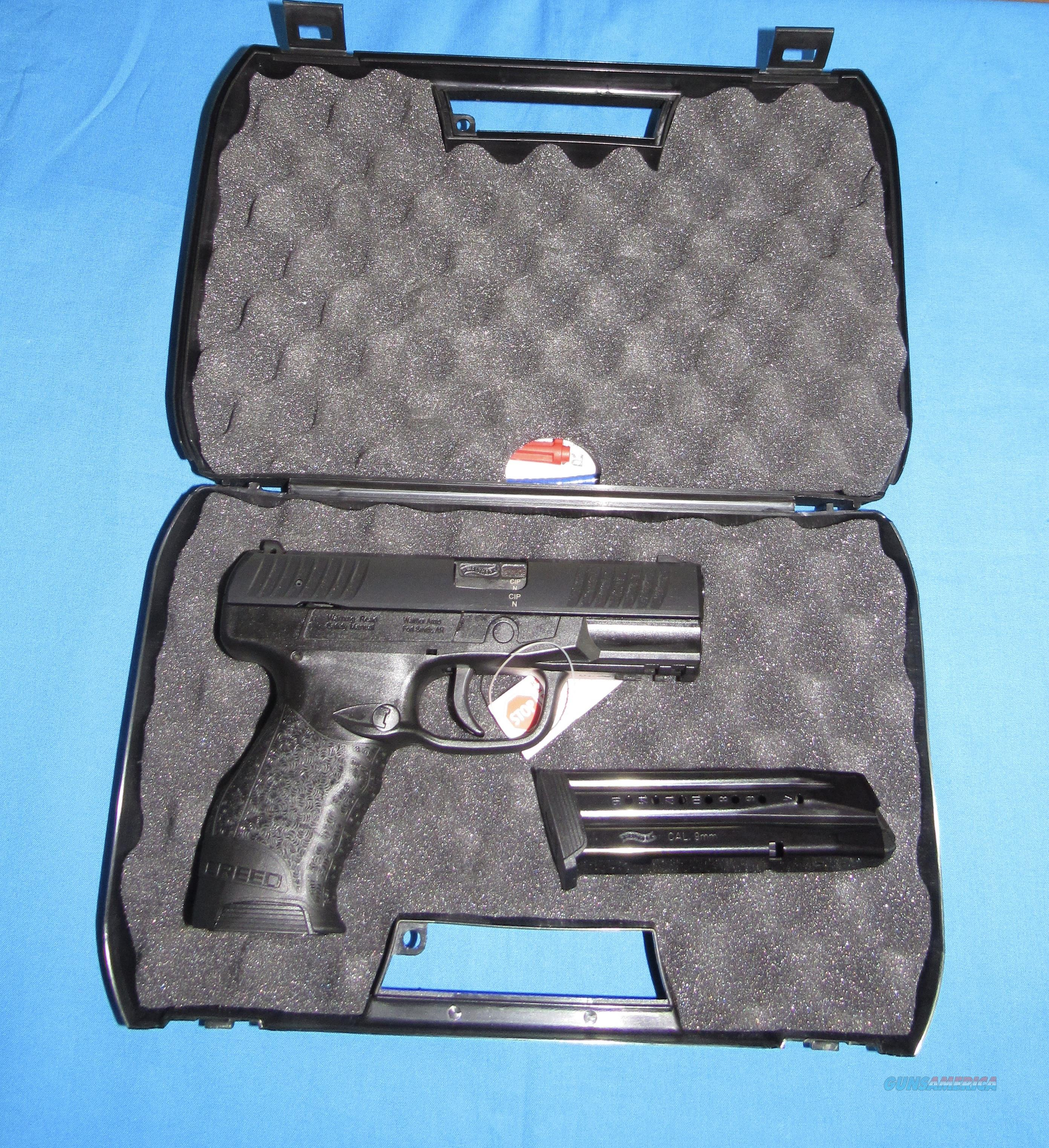 WALTHER CREED 9MM SEMI-AUTO PISTOL  Guns > Pistols > Walther Pistols > Post WWII > Creed