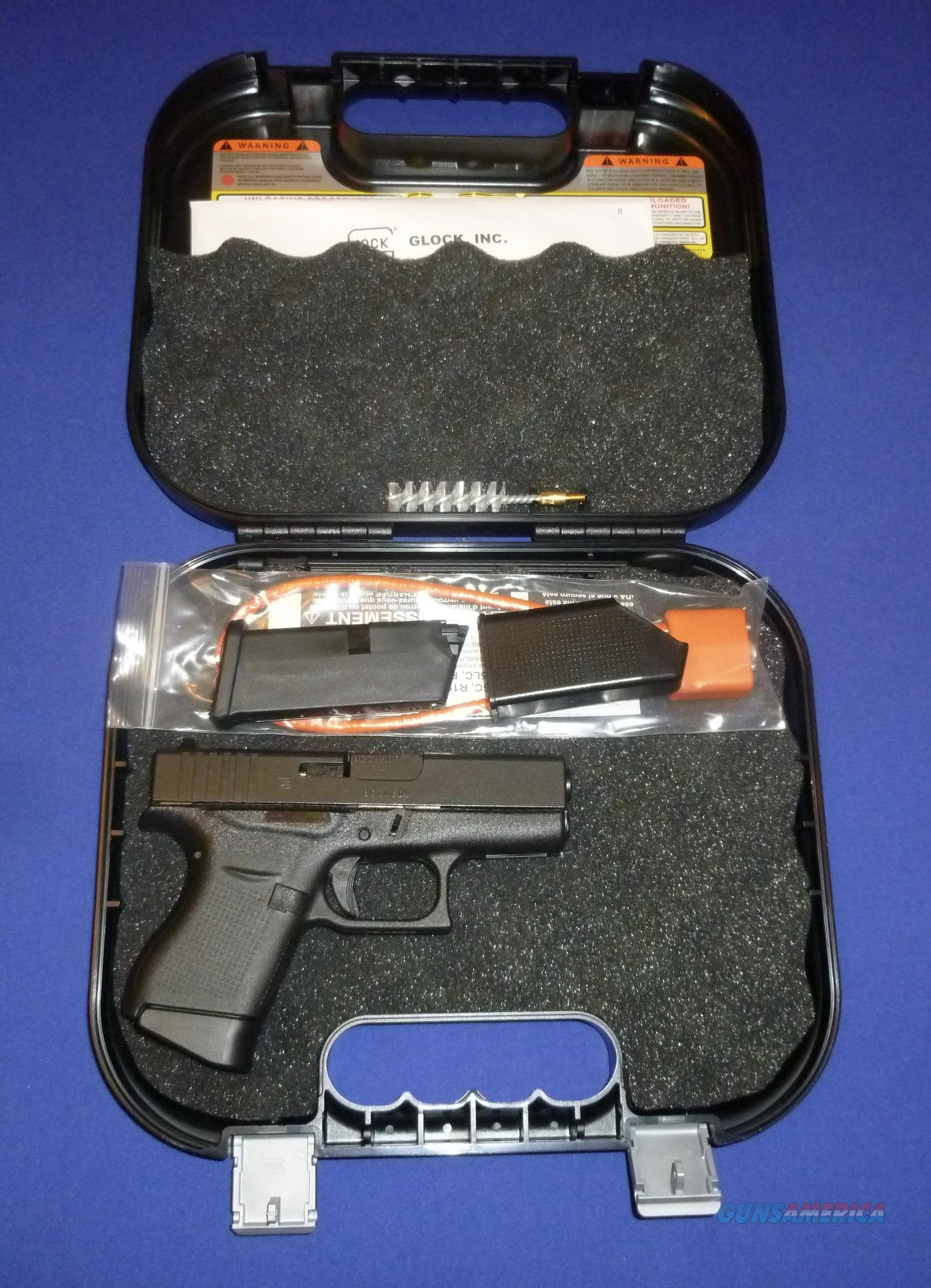 SALE PRICED! GLOCK 43 COMPACT 9MM PISTOL NEW!  Guns > Pistols > Glock Pistols > 43