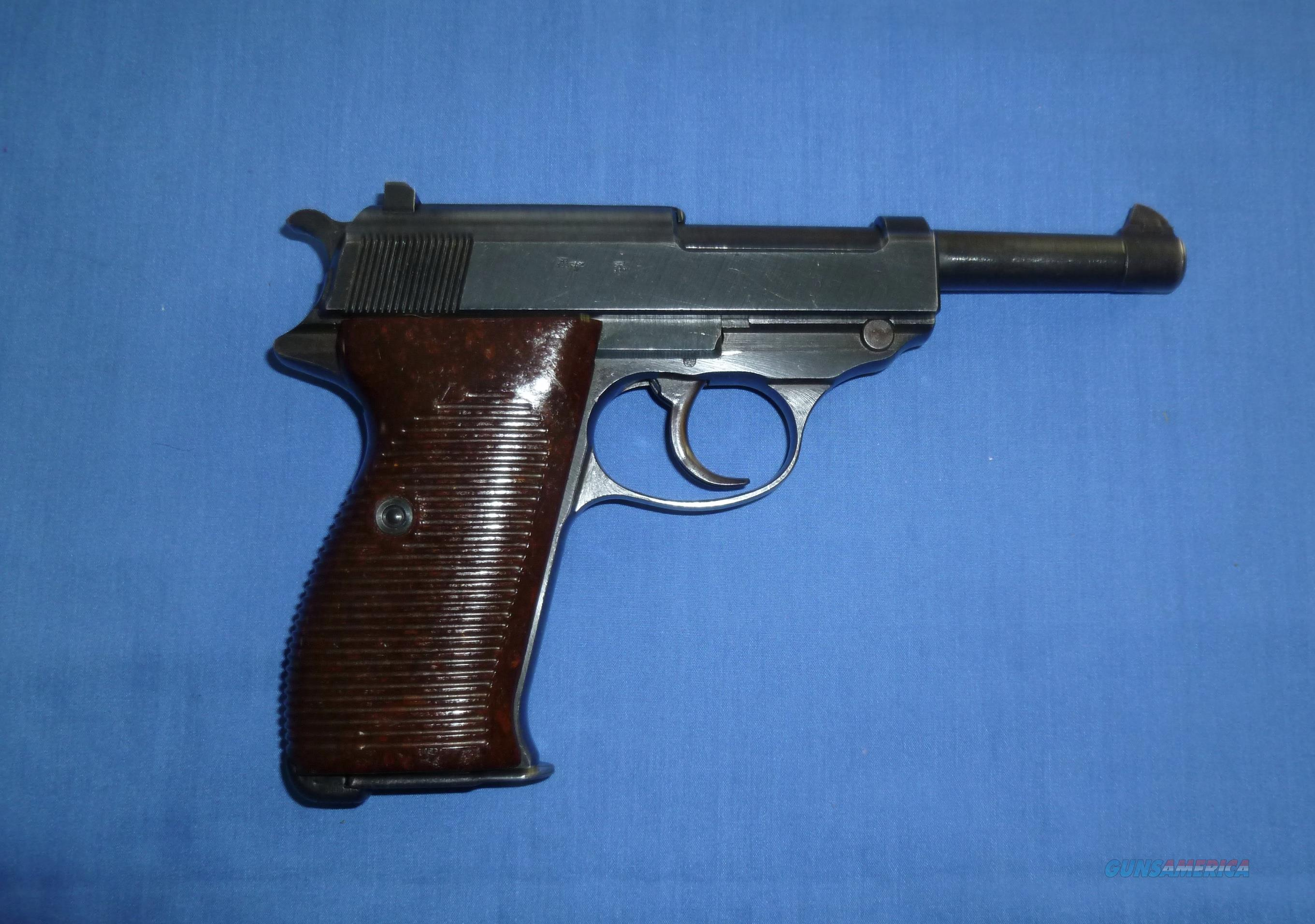 WORLD WAR II WALTHER P.38 9MM PISTOL  Guns > Pistols > Walther Pistols > Pre-1945 > P-38