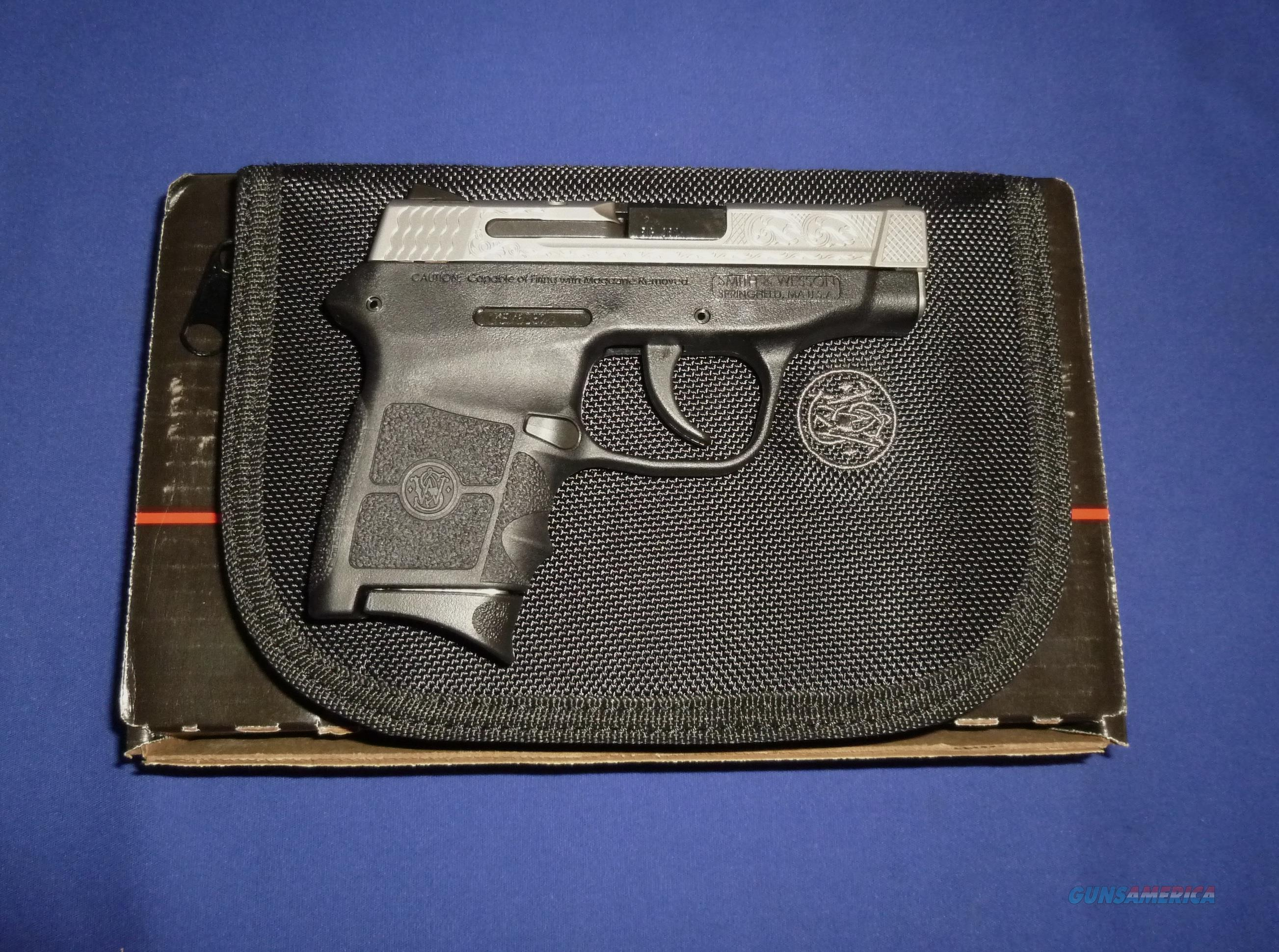 SMITH & WESSON M&P BODYGUARD 380ACP ENGRAVED MICRO-COMPACT PISTOL   Guns > Pistols > Smith & Wesson Pistols - Autos > Polymer Frame