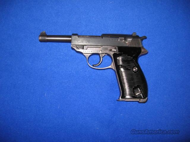 Walther WWII Mauser P38 9MM Pistol  Guns > Pistols > Walther Pistols > Pre-1945 > P-38