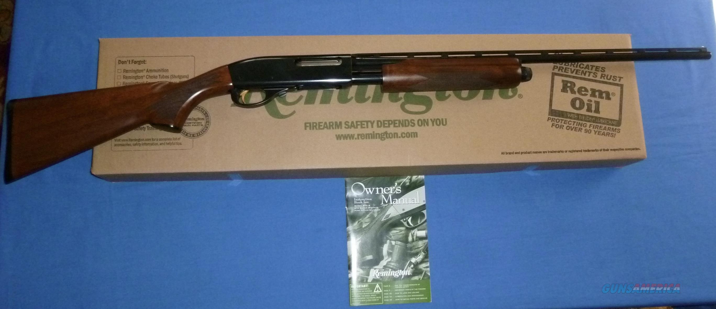 REMINGTON MODEL 870 WINGMASTER 410 GAUGE SHOTGUN  Guns > Shotguns > Remington Shotguns  > Pump > Hunting