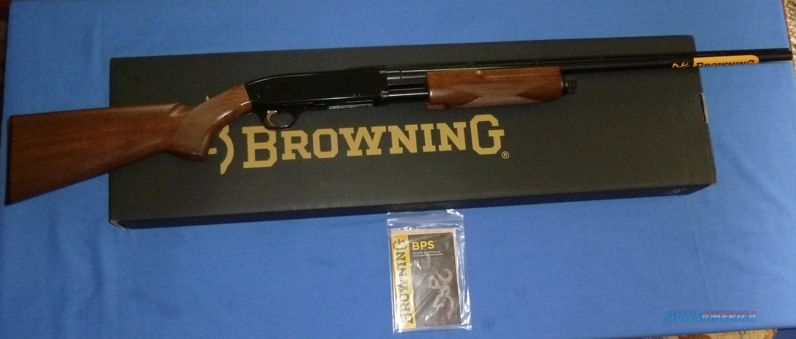 BROWNING BPS HUNTER 28 GAUGE PUMP SHOTGUN NEW!  Guns > Shotguns > Browning Shotguns > Pump Action > Hunting