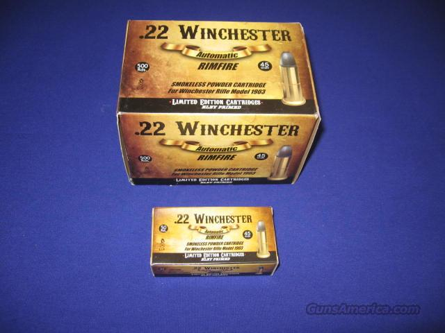 Aguila .22 Winchester Automatic Rimfire Ammo for the 1903 Rifle--500 Rounds ( 1 Case)  Non-Guns > Ammunition