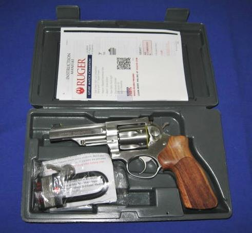 RUGER GP100 MATCH CHAMPION 357 MAGNUM DOUBLE ACTION REVOLVER  Guns > Pistols > Ruger Double Action Revolver > GP100