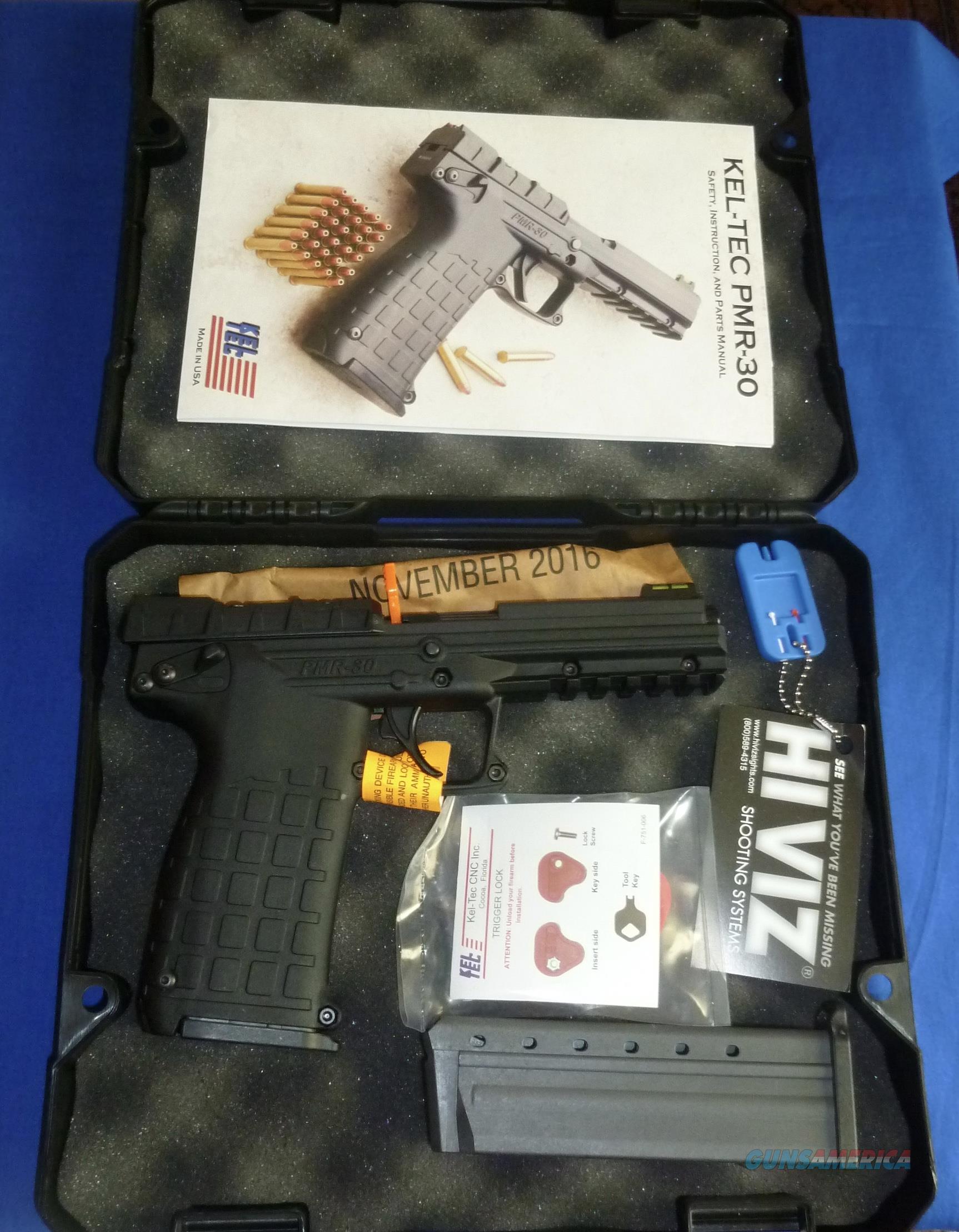 KEL-TEC PMR-30 22 MAGNUM SEMI-AUTO PISTOL  Guns > Pistols > Kel-Tec Pistols > Other