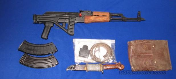 Century Int. Romanian WASR 10/63 AK-47 Rifle w/Folding Stock 7.62 x 39 Cal.   Guns > Rifles > AK-47 Rifles (and copies) > Folding Stock