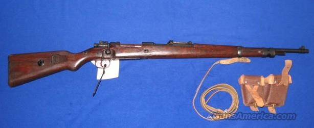 German Mauser K-98 8mm Bolt Action Carbine.  Guns > Rifles > Mauser Rifles > German