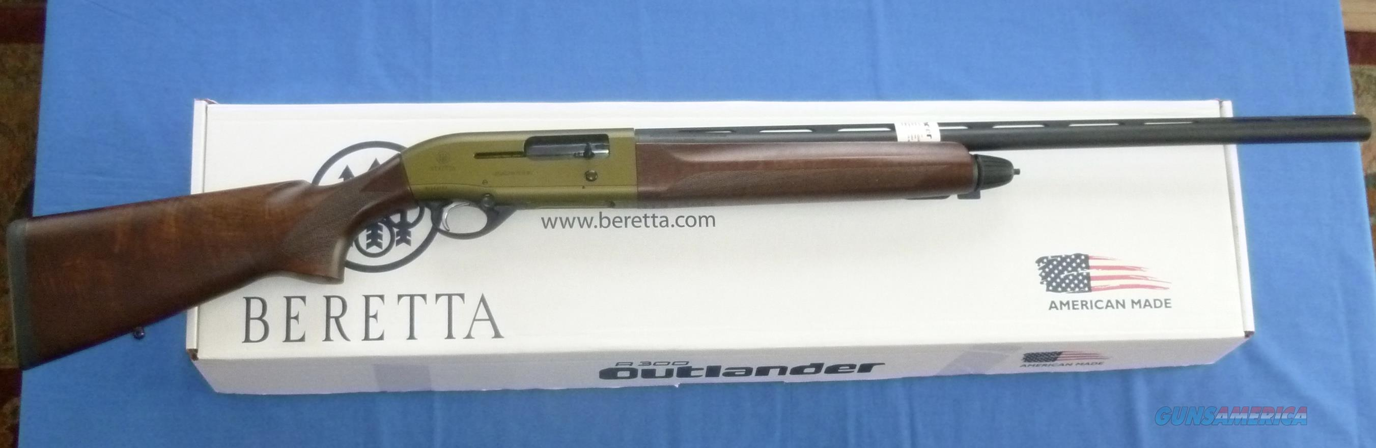 BERETTA A300 OUTLANDER MALLARD 12 GAUGE SEMI-AUTO SHOTGUN  Guns > Shotguns > Beretta Shotguns > Autoloaders > Hunting
