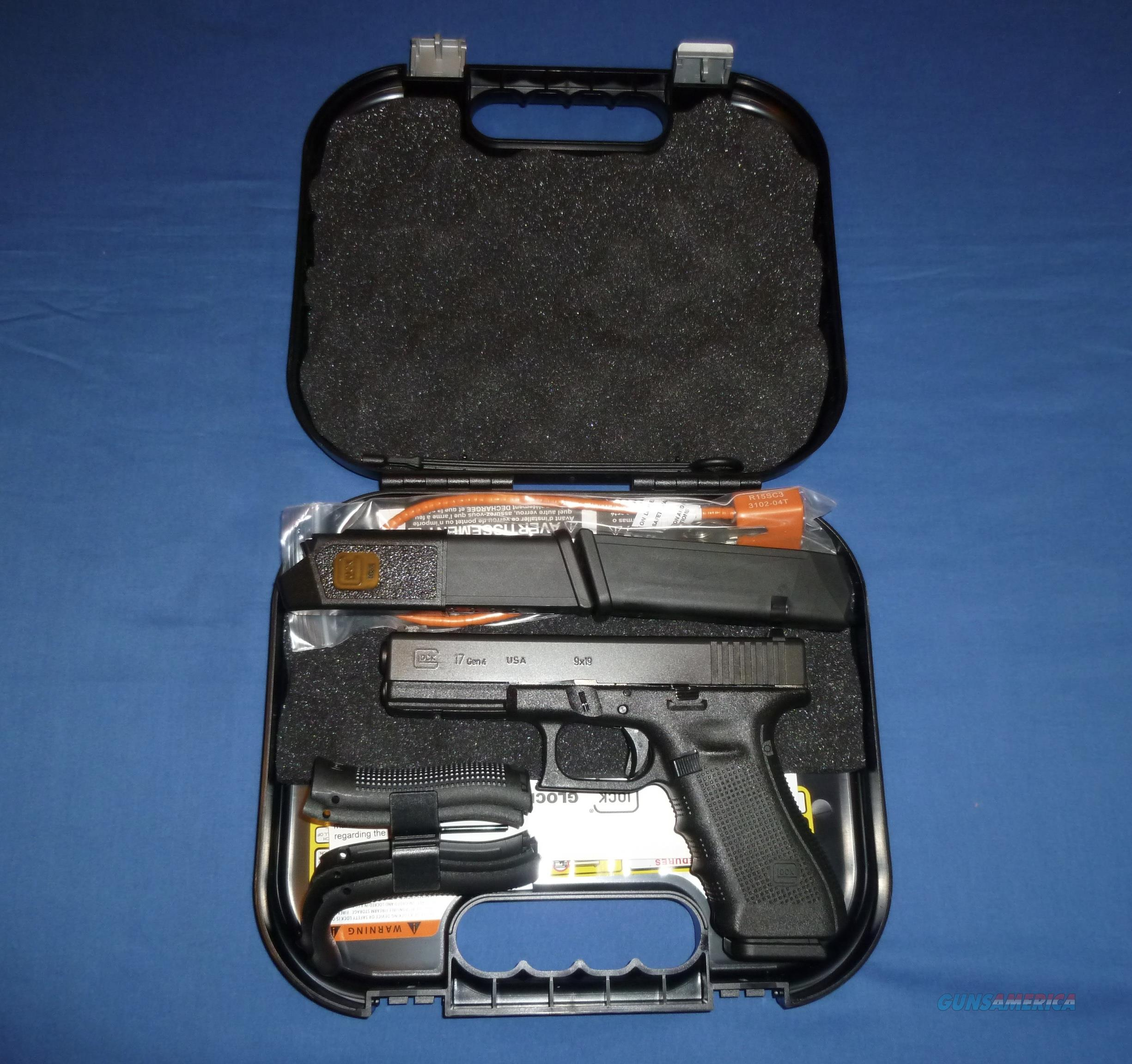 GLOCK GEN 4 MODEL 17 9MM PISTOL W/AMERIGLO GLO-PRO SIGHTS, TALO DISTR. EDITION  Guns > Pistols > Glock Pistols > 17