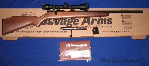 Savage Model 93 17HMR Bolt Action Rifle w/Scope   Guns > Rifles > Savage Rifles > Accutrigger Models > Sporting